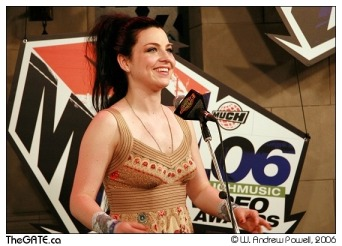Amy Lee in Much Music Video Awards (III)