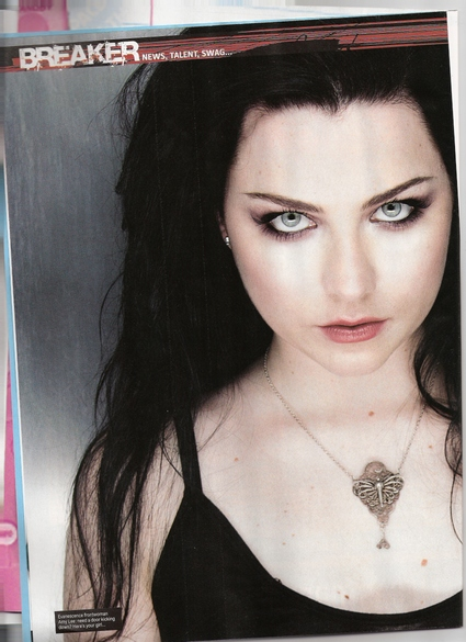 Amy Lee en Kerrang