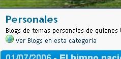 BlogChapines-Blogs en Categorias