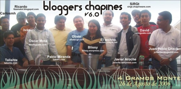 Bloggers Chapines V6.0