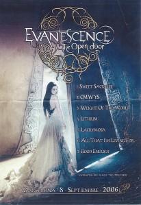 Evanescence en España