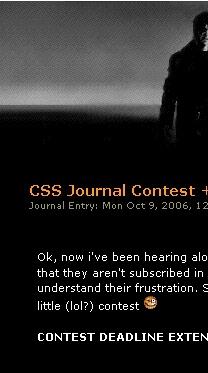 CSS Contest