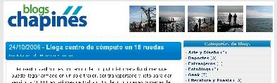 Portada Blogschapines